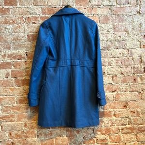 Tulle Jackets & Coats - Tulle Wool Blue Coat (Size M Nordstrom Jr. Sizing)